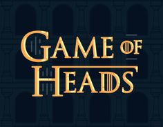 Inspired by HBO tv series Game of Thrones, 30 awesome designers from different countries have created 30 characters heads in their chosen style and technique.We hope you will enjoy! And beware - Winter is Coming!