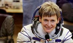 After 665 days off the planet, astronaut Peggy Whitson is hungry for pizza and looking forward to using a regular flush toilet again.