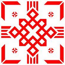 Slavic Religious Symbol Of God BiaobgBelobog Tattoo