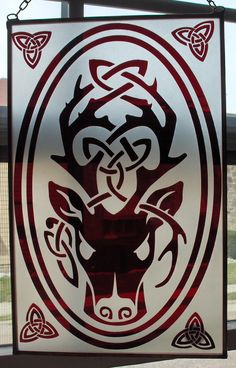 Celtic Stag. I like the idea for our group's White Stag Tournament (obviously a different color scheme).
