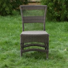 All-Weather Wicker Dining Chair in House+Home HOME DÉCOR Furniture Seating at Terrain