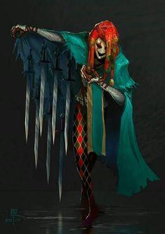 Jester - Concept Art