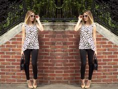 Leopard top • Uptown with Elly Brown