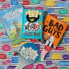 The bad guys by aaron blabey this book is about mr wolf mr shark the perfect wee book stash for my youngest who is turning 7 tomorrow fandeluxe Gallery