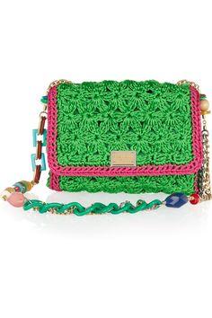 Dolce & Gabbana|Crocheted shoulder bag