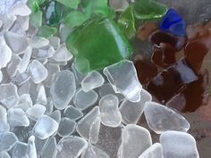 Beach glass from Lake Huron Grand Bend, Ontario, Canada Sea Glass Beach, Lake Huron, Treasure Hunting, Detroit Michigan, Light Project, Tree Houses, Summer Activities, Diy Projects To Try, Light Table