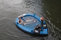 I need this in my life. NOW.  HotTug - The Hot Tub that is a Tug Boat.