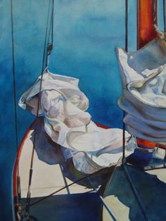 Incredibly awesome boat related paintings