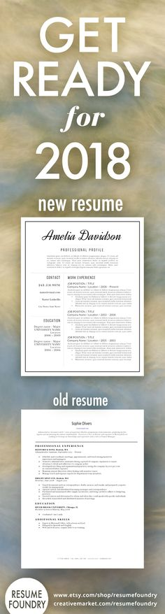 Simple to use resume template; download from Resume Foundry on - fonts to use on resume