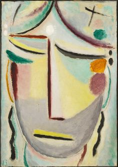 Alexej Georgewitsch von Jawlensky - Heilandsgesicht: Mondlicht(Verheissung)/ Saviour's face: Moonlight (Annunciation), 1922 | Flickr - Photo Sharing!