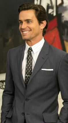 Matt Bomer i mean Christian Grey i mean Neal Caffrey ok is the same.