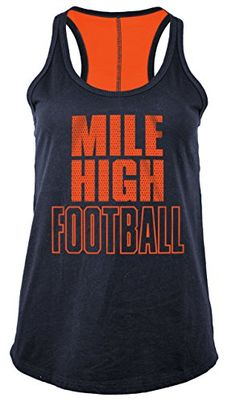 & Ocean NFL Denver Broncos Women's Baby Jersey Racer Back Tank Top with Contrasting Colors, Large, Navy Denver Broncos Womens, Denver Broncos Super Bowl, Denver Broncos Football, Broncos Gear, Go Broncos, Broncos Fans, Fall Football, Football Baby, Football Season