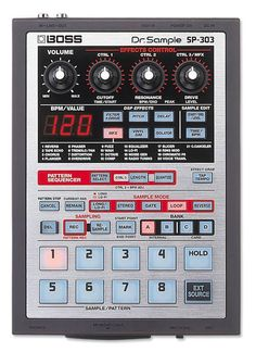 Want one of these. BOSS SP-303.