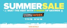 GAME OF THE WEEK Beat the Heat with five weeks of cool savings during the GameStop Summer sale. Stay cool with big savings this week on systems and accessories. Xbox 360, and Nintendo Wii's for just $29.99 after rebate. TO BUY CLICK ON LINK BELOW http://tomatovisiontv.wix.com/tomatovision2#!video-games/c1zzn