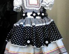 Vestido ISADORA de Festa Junina
