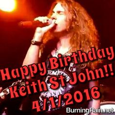 Happy birthday Keith St John 2016
