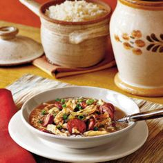 With or without okra, gumbo is a New Orleans icon.