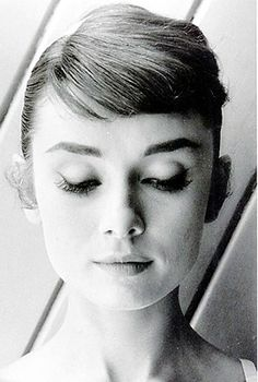 """""""I never think of myself as an icon."""" —AH #audreyhepburn"""