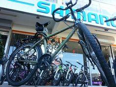 Bicicleta nueva después del accidente