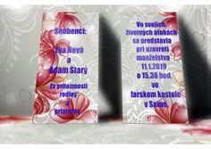 Svadobné oznámenie - SO248 Motto, Personal Care, Self Care, Personal Hygiene, Mottos