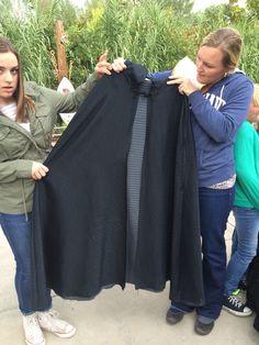 Front of cloak
