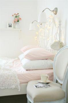 Chambre au couleurs pastels