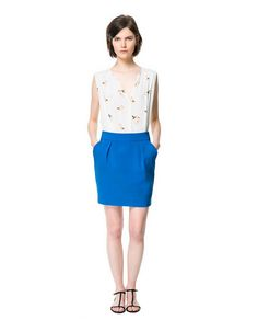 ZARA - WOMAN - TULIP SKIRT