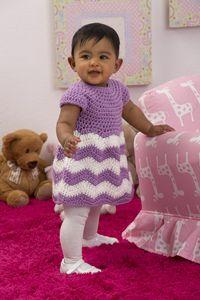 Chevron Chic Baby Dress