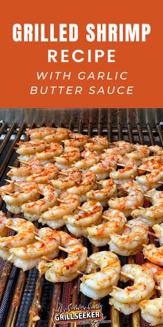 Grilled Argentinian red shrimp - the perfect grilled shrimp appetizer or shrimp main Grilled Shrimp Recipes, Shrimp Appetizers, Grilled Seafood, Crab Recipes, Garlic Recipes, Grilled Fish, Shrimp Skewers, Recipies, Healthy Recipes