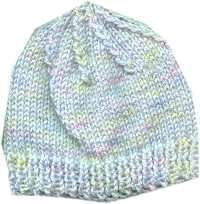 ssk: sl knitwise, one at a time, to the rt ndl. Put left needle thru front of these and knit them tog. CO 80 Work 9 rows rib. Baby Hat Knitting Patterns Free, Baby Hats Knitting, Mittens Pattern, Loom Knitting, Knit Patterns, Free Pattern, Crochet Baby, Knit Crochet, Knitted Hats Kids