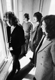 Led Zeppelin photographed by Herb Greene, 1969.