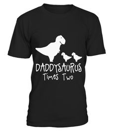 """# Men's DADDYSAURUS TIMES TWO Twins Father Dad Kids Dinosaur Shirt . Special Offer, not available in shops Comes in a variety of styles and colours Buy yours now before it is too late! Secured payment via Visa / Mastercard / Amex / PayPal How to place an order Choose the model from the drop-down menu Click on """"Buy it now"""" Choose the size and the quantity Add your delivery address and bank details And that's it! Tags: Does Your Son or Daughter Love Dinosaurs?! Do they Love to Play with Daddy…"""