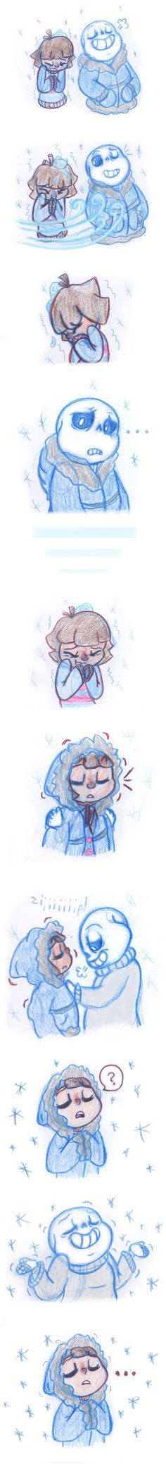 Cold Bodies, Warm Hearts Pt 1 (Undertale) by Leilani-Lily on DeviantArt