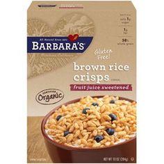 Barbara's brown rice crisps