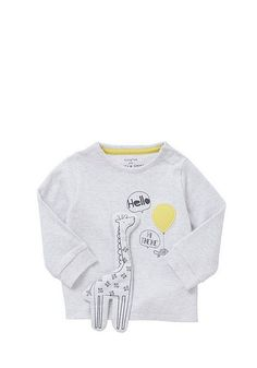 F&F Giraffe Applique Sweatshirt and Joggers Set Baby Boy Clothing Sets, Kids Clothes Boys, Kids Boys, Baby Girl Pajamas, Zara Outfit, Kids Inspire, Zara Kids, Summer Kids, Baby Sewing