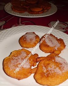 Recetas de Cocina Canaria: Tortillas de calabaza (de carnaval)