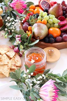 These simple Charcuterie Board Brunch Ideas will blow you away! Charcuterie Boards with Fruit, Meats, Cheeses, Vegetables, Sandwiches and Desserts. Homemade Sauerkraut, Sauerkraut Recipes, Homemade Muffins, Homemade Breakfast, Charcuterie Recipes, Charcuterie Board, Brunch Recipes, Appetizer Recipes, Brunch Ideas