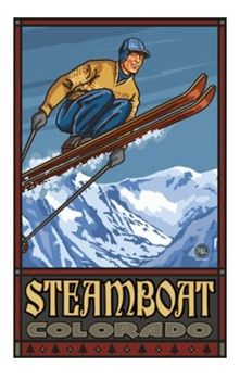 Great selection of vintage ski posters at Vintage Snow. Many original vintage ski poster perfect for framing to display with your ski lodge decor. Vintage Ski Posters, Retro Posters, Sports Posters, Ski Lodge Decor, Vail Colorado, Look Vintage, Vintage Wood, Vintage Signs, Mammoth Mountain