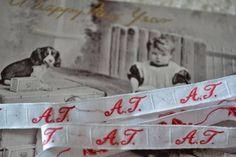 Initial Tape AT 49 Antique