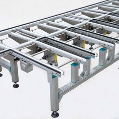 Montech AG is continually moving forward and always striving to improve our products. We are specialists in belt conveyors for the automation of transport systems, assembly and manufacturing processes. Tandem, Shoe Rack, Packaging, German, Boxes, English, 3d, Seesaw, Robot