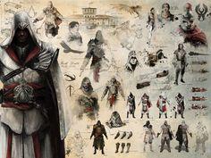 Ezio (ACII) - Concept Art