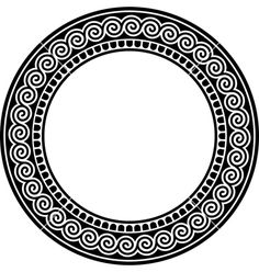 round-frame-with-a-meander-vector-328424.jpg (380×400)