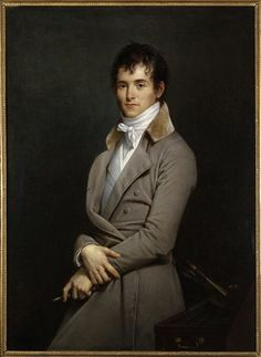 loverofbeauty:  Citizen Guérin (Portrait of the Painter Pierre-Narcisse Guérin) byRobert Lefèvre