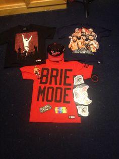 All of my WWE merchandise!