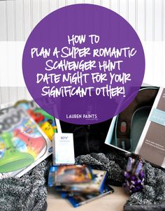 Having The Freedom To Be Spontaneous: How To Plan A Super Romantic Scavenger Hunt Date Night! In love with love Anniversary Scavenger Hunts, Scavenger Hunt Birthday, Scavenger Hunt Clues, Birthday Presents For Men, Birthday Gifts For Husband, Boyfriend Birthday, Husband Gifts, Romantic Night, Romantic Dates