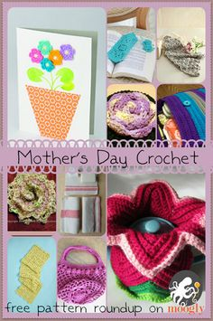 Crochet the perfect gift for Mothers Day -10 free patterns designed with Mom in mind!