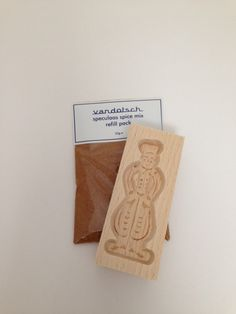 Vandotsch Speculaas Spice & Man Mould - Make Authentic Dutch Speculaas Biscuits by The Speculaas Spice Shop on Gourmly