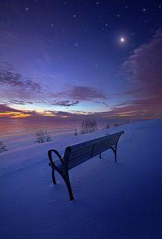 Winter Night | Horizon , Wisconsin | by Phil Koch