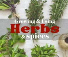 Jan 9 � Win Growing and Using Herbs