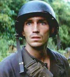 Jim Caviezel in Thin Red Line...